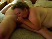 sub/slut sucking a strangers cock