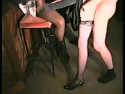 Slut gets gangbanged at snooker hall wife interracial group sex